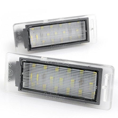 LED Kennzeichenbeleuchtung mit Zulassung