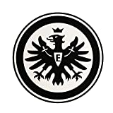 Eintracht Frankfurt Aufkleber, Sticker, Autoaufkleber Logo Schwarz - Plus Gratis Lesezeichen I Love Frankfurt