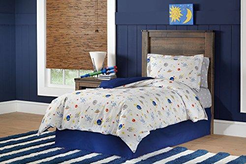 Lullaby Betten Platz Baumwolle Bedruckt 4PC Tröster Set, Full