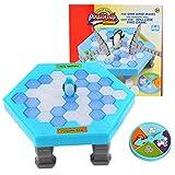 Pinguin Trap Tischspiel Desktop Spiel , Tefamore Balance Eiswürfel Speichern der Pinguin Eis Brechen Interaktive Party-Spiel Familie Strategie Spiele
