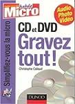 CD et DVD : Gravez tout !
