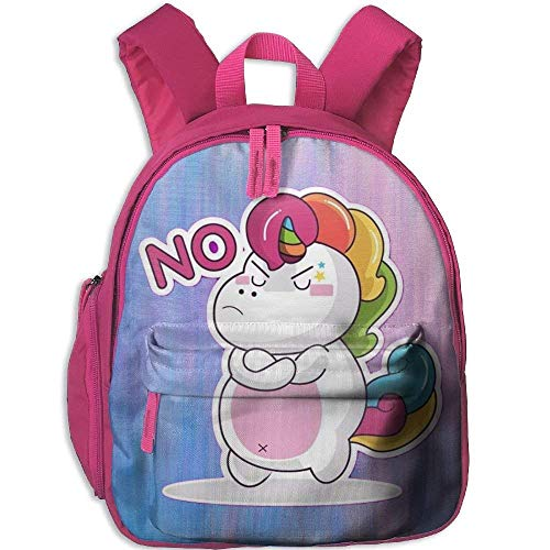 Kindergarten Boys Girls Backpack Say No School Bag