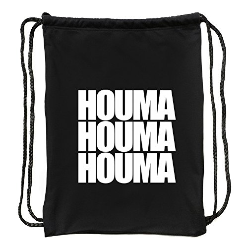 Eddany Houma three words Turnbeutel