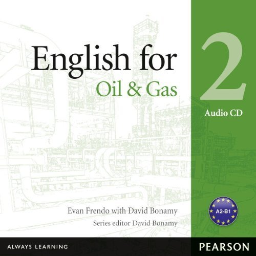 English for Oil & Gas 2 Audio CD (Vocational English Series) by Evan Frendo (2013-06-29)