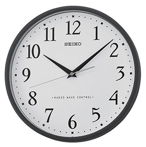 Seiko Reloj de Pared plástico Negro baycliffe QXR210K