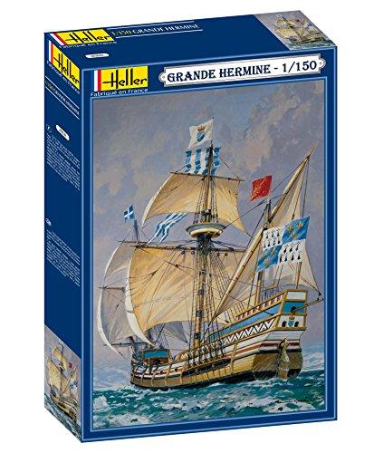 Heller 80841 Modellbausatz La Grande Hermine