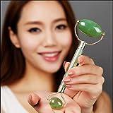 Gesichtsmassagegerät Natural Jade Jade Jade Smaragd Jade Rad Schönheit Container