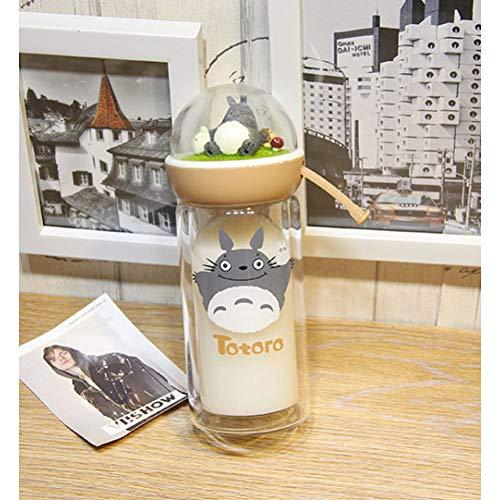 otoro Micro Landschaft Doppelglas Wasserflasche Anime Flasche Wasser Geschenk ()