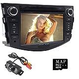 Auto in Dash Radio für Toyota RAV420062007200820092010201117,8cm Monitor DVD Player GPS Navigation Stereo Bluetooth SWC Subwoofer Rückseite cam-in