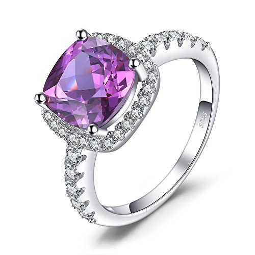 JewelryPalace Luxus 5.35ct Synthetiche Alexandrite Saphir Cocktail Ring 925 Sterling Silber (Alexandrit Silberring)