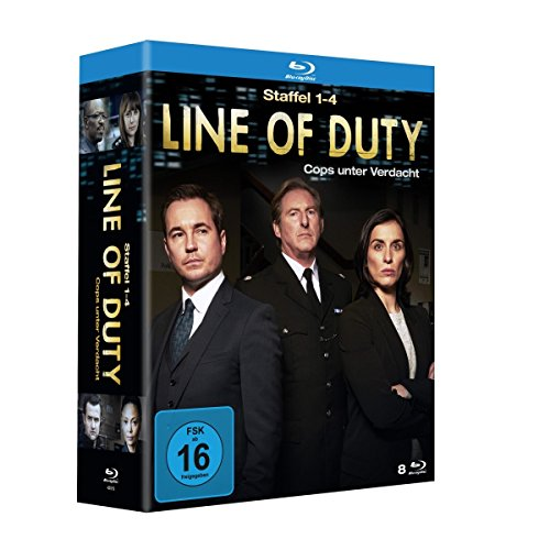 Line of Duty - Cops unter Verdacht - Staffel 1-4 [Blu-ray]