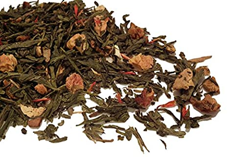 Golden Apple Spice Green Tea Loose Leaf Japanese Sencha Style 50g **FAST & FREE Uk Post** by TeaCakes of