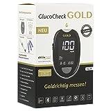 GLUCO CHECK GOLD Blutzuckermessgerät Set mg/dl 1 Stück