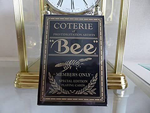 Bee Gold Rare Limited Custom Playing Cards / Classic Coterie Private Members Club Magic Poker Deck - Poker Casino Cartes a