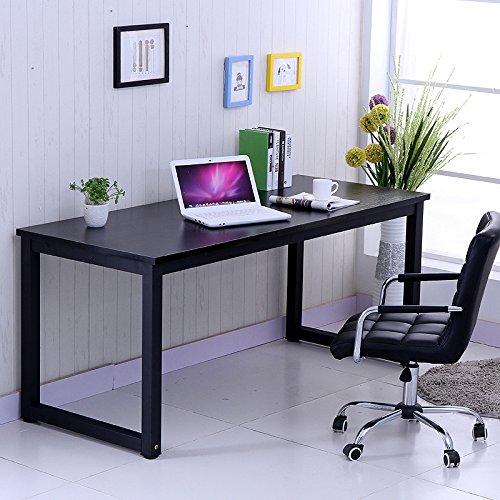 Anaelle-Pandamoto-Bureau-Informatique-Table-de-lordinateur-sur-Bureau-Maison-Fte-etc-Taile-1206074cm-Poids-22kg-Noir