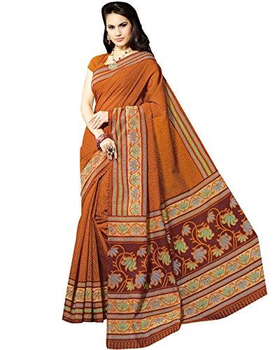 Roopkala Silks & Sarees Cotton Saree (Bp-105_Mustard)
