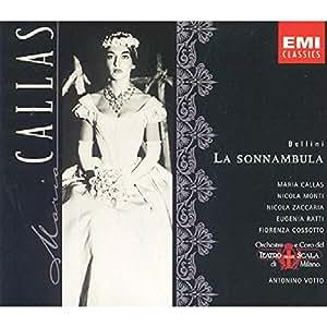 Bellini: La Sonnambula (Gesamtaufnahme) (Aufnahme Mailand 1957)