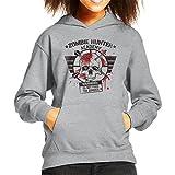 Zombie Hunter Academy Kid's Hooded Sweatshirt