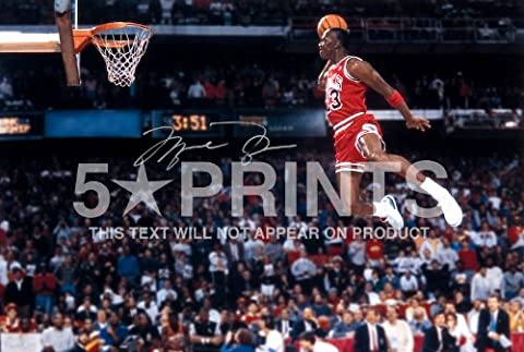 Michael Jordan NBA Chicago Bulls Signed PP 12x8