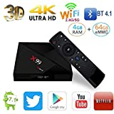 HUAXING X99 Mini Android Box TV Set-Top Box Android 7.1 TV Box S905W 4G 64G