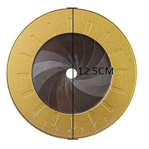 aheadad Portable Circle Drawing Tool Einstellbare kleine Zeichenwerkzeuge für Designer Holzbearbeiter Edelstahl