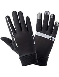 ZAY - Guantes de Invierno con Pantalla táctil para Montar en frío, Resistente al Viento, térmicos, Ideal como Regalo L