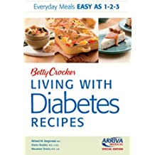 Arriva Custom Betty Crocker Living with Diabetes Recipes by Betty Crocker (2010-02-22)