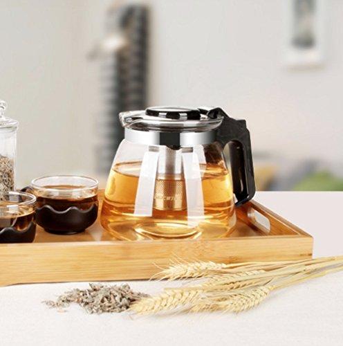 teekanne glas teebereiter 1500 ml mit abnehmbare edelstahl sieb so wird gekocht. Black Bedroom Furniture Sets. Home Design Ideas