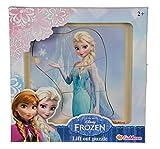 Eichhorn 100003370 - Disney Frozen Einlegepuzzle mit 7 Einlegeteilen, 4 versch. Motive verfügbar, keine Motivauswahl möglich, Lieferumfang 1 Stk.