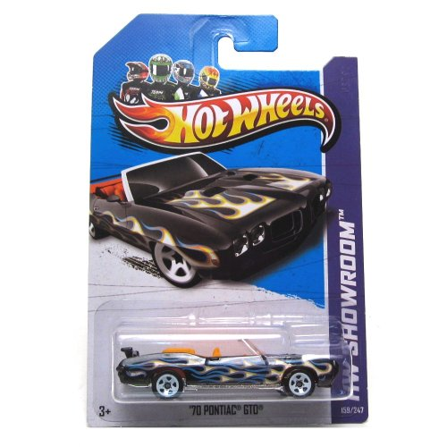 Hot Wheels HW Showroom Heat Fleet '12 '70 Pontiac GTO 159/247 (Wheels Hot Gto)