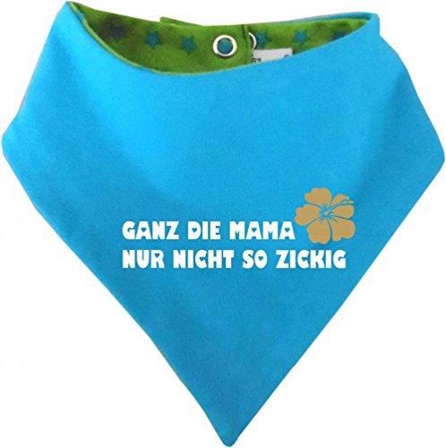 Évolue bébé et enfant-foulard réversible avec étoiles la mama tout simplement pas mégère in designs 4 et tailles 36 mois - Vert - 9 mois