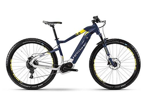 Haibike SDURO HardNine 7.0 E-Bike 500Wh E-Mountainbike blau/citron/silber matt