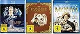 Die unendliche Geschichte (1+3) + Momo im Set - Deutsche Originalware [3 Blu-rays]