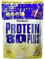 Weider 80 Plus Protein, Banane (1 x 500 g)
