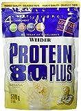 Weider, 80 Plus Protein, Banane, 1er Pack (1x 500g)