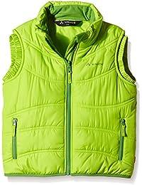 VAUDE yalca Arctic Fox Vest, otoño/invierno, infantil, color Verde - verde, tamaño 2 años (92 cm)