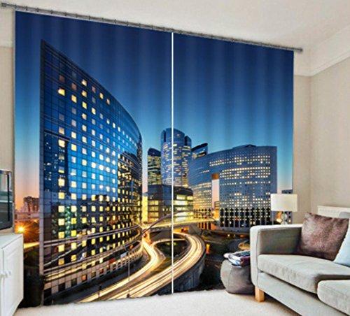 GFYWZ Paesaggio 3D personalizzati tende Home Decor