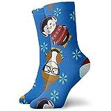 Be-ryl Lebkuchen-Weihnachtsbaum-Tierkarikatur-athletische Socken-Söckchen-Sport-beiläufige Socken-Baumwollmannschafts-Socken