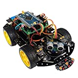 Télécommande bricolage voiture intelligente Bluetooth Télécommande bricolage pneu de voiture 4WD Development Board