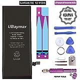 UBaymax Batterie Compatible iPhone 6S Haute Capacité 1715mAh Kit Batterie de...