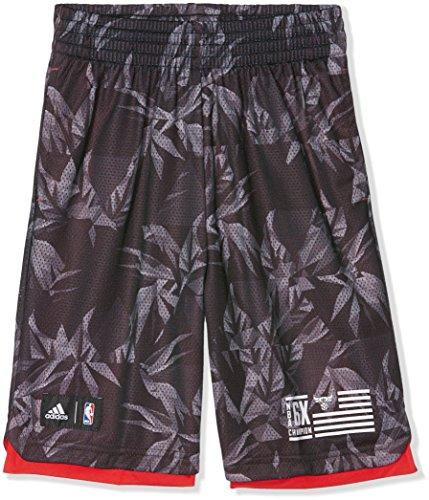 adidas Jungen Shorts Y FNWR, Rot/Schwarz/Grau, 128, 4056562718972