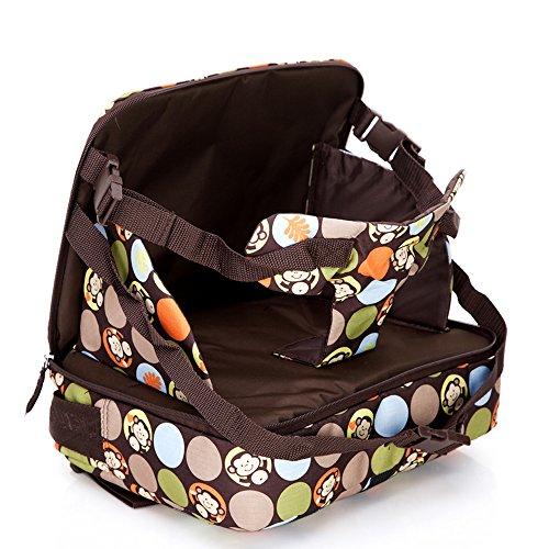 Preisvergleich Produktbild mengma 5 Farben Multifunktions Tragbare Mummy Wickeltasche Kind sicher Füttern Sitz Tasche Baby Klappsessel Windel