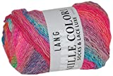 Lang Yarns 56Wolle/Nylon/Polyester Mille Colori Sockenwolle luxe-50