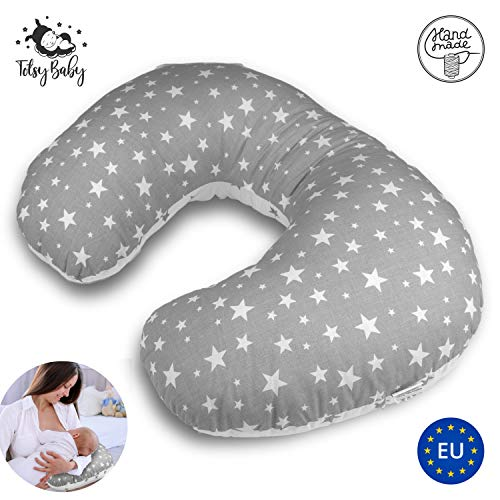 Almohada Embarazada Dormir y Cojin Lactancia bebé - pequeña cojines laterales almohada de embarazo...