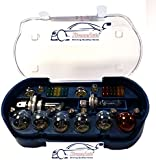 XtremeAuto® UNIVERSAL 30 PIECE SPARE BULB KIT INCLUDING H1 H4 H7 380 382 581 BULBS & FUSES + XTREMEAUTO STICKER