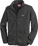 Stubai - Strick Fleecejacke Herren/Strickjacke mit Fleece Innenseite für Outdooraktivität, Strick Fleece Jacke mit Stehkragen und Reißverschluss (Farbe: in Mehreren Farben, Größe: M - 3XL)