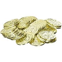 Amscan Jake - Juego de 40 monedas de oro para fiestas