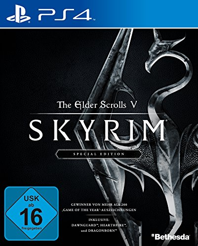 The Elder Scrolls V: Skyrim Special Edition [PlayStation 4] (Xbox 360 Spiel Des Jahres Edition)