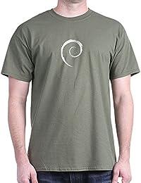 CafePress - Debian T-shirt (Dark) - 100% Cotton T-Shirt