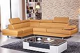 Ledergarnitur Ledersofa Voll-Leder Ecksofa Sofa Garnitur Couch Eckgruppe 2020-L-04